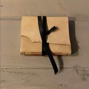 Leather Journal - Cream Color
